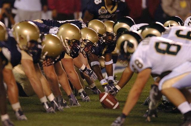 American Football wird neben Baseball als der Nationalsport der USA gehandelt