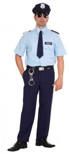 American Police : Hemd, Hose und Krawatte - 1