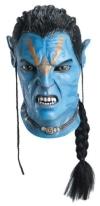 Avatar Jake Sully, Latex-Maske für Erwachsene Aufbruch nach Pandora - 1