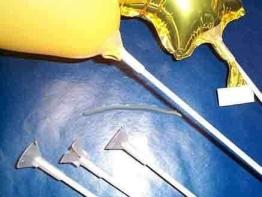 Ballonstab MINI, 20 cm, 100er-Pack - 1