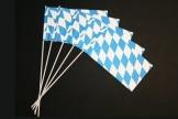 Bayern-Fahne: Papierfähnchen, 50er-Pack - 1