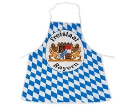 Bayern-Schürze mit Rauten und Wappen - 1
