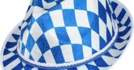 Bayernhut, blau-weiß - 1