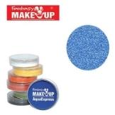 blaue AquaExpress-Schminke 15g, PERLGLANZ blau - 1