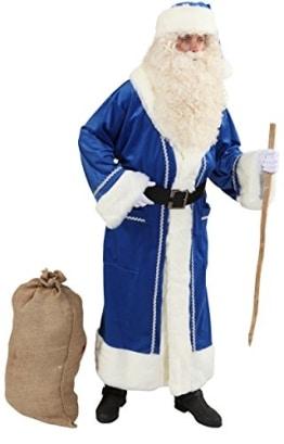 Blauer Weihnachtsmannmantel - 1