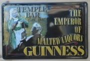 Blechschild Nostalgieschild : Guinness Liquor Temple Bar Nostalgieschild Schild Irland