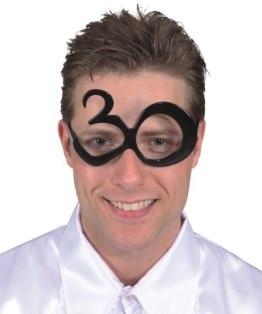 Brille: Brille mit Jahreszahl 30 - 1