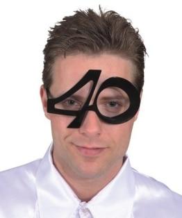Brille: Brille mit Jahreszahl 40 - 1