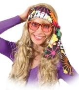 Brille: Party-Brille, Smiley, orange - 1