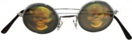 Brille: Totenkopf-Brille - 1