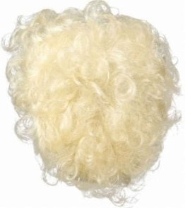 Brusthaar: Brusthaartoupet, blond - 1