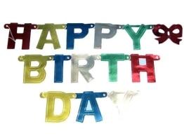 "Buchstabenkette: ,,Happy Birthday"" - 1"