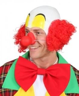 Clown-Nase, quietschend, rot - 1