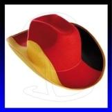 Cowboyhut Deutschland Fussball WM 2010 - 1
