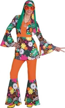 Damenanzug Blumenwiese : Kasak und Hose - 1