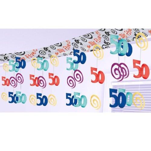 Party deko 50 geburtstag m bel inspiration und innenraum for Deko geburtstag 50