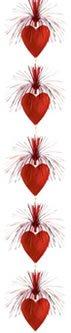 Deckenhänger Herz-Kaskade, Deko Herzen und Liebe - 1