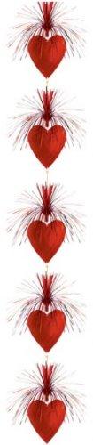 Deckenhänger Herz-Kaskade, Deko Herzen und Liebe - 2