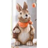 "Deko-Hase ""Eiersammler"", groß, Ostern, Osterhase - 1"
