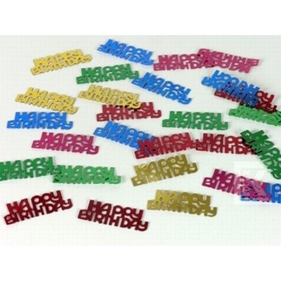 Deko konfetti happy birthday party deko for Party deko shop