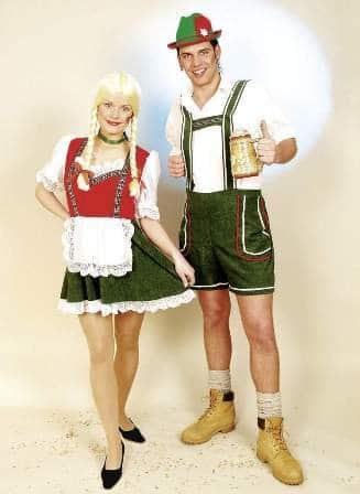 Dirndl-Kleid: Tirolerin, Kostüm-Tracht - 1