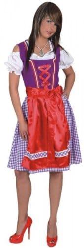 """Dirndl """"Leni"""" : Kleid mit Schürze - 1"""