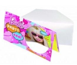 """Einladungen: Einladungskarten mit Umschlag, """"Totally Barbie"""", 6er-Pack - 1"""