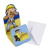 Einladungskarten, Bob der Baumeister, 6er-Pack - 1