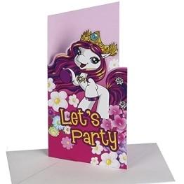 """Einladungskarten, Motiv """"Filly Fairy"""", 6 Stück - 1"""