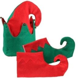 Elfen-Set (Mütze,Gamaschen) - 1