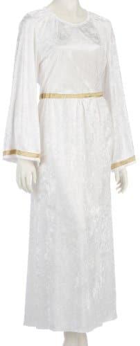 Engelskostüm: Kleid, weiß-gold - 1