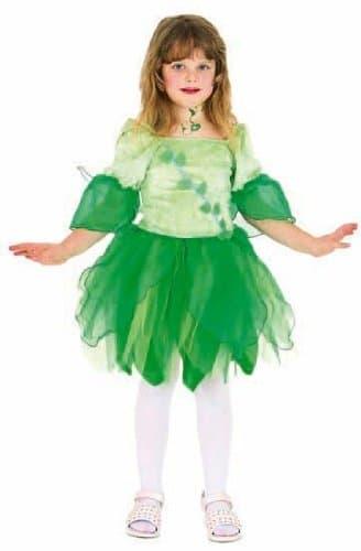 Fee grün : Kleid mit Flügeln - 1