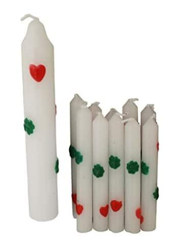 Geburtstagskerzen: 1 Lebenslicht und 10 Kerzen für Geburtstagsringe - 2