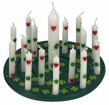 Geburtstagskerzen: 1 Lebenslicht und 10 Kerzen für Geburtstagsringe - 4