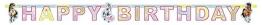 """Geburtstagskette: Partykette, """"Pferdehof"""", Schriftzug Happy Birthday, 180 x 15 cm - 1"""