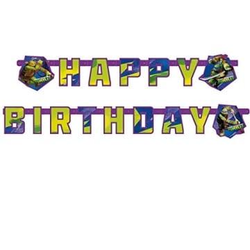"""Geburtstagskette: Partykette, """"Teenage Mutant Ninja Turtles"""" - 1"""