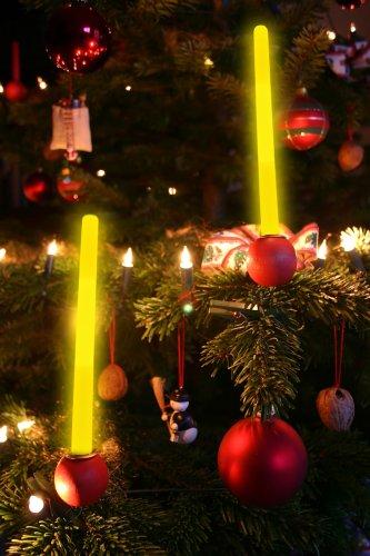 gelbe Knicklichter 15cm, gelbes Knicklicht Leuchtstab gelb - 3