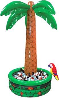 Getränkekühler: Palme, aufblasbar, 180 cm - 1
