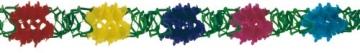 Girlande: Blumengirlande, 20 cm Durchmesser, 10 m Länge - 1