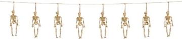 Girlande: Girlande mit 8 Skeletten, Kordel, 10 m - 1
