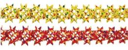 Girlande, Konfetti-Punkte, sortiert, 25 cm Durchmesser, 10 m Länge - 1