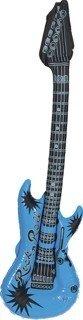 Gitarre: Luftgitarre, blau - 1