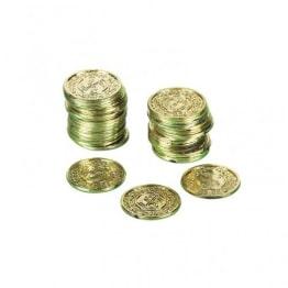 Goldmünzen, 72 Stück, Kunststoff - 1