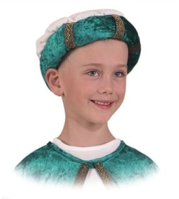 grüner Turban für Kinder - 1