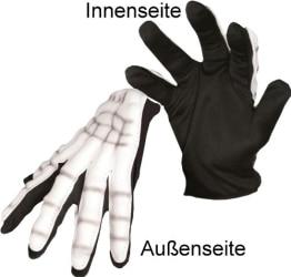 Grusel-Kostüm: Handschuhe, Horrorhände, 2 Stück - 1
