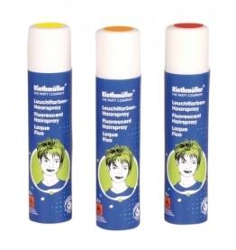 Haarspray: Leuchtfarben-Haarspray, pink fluoreszierend, 100 ml - 1