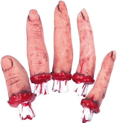 Halloween deko abgerissener finger 5 st ck party deko for Party deko shop