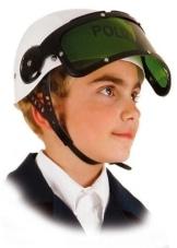 Helm: Polizeihelm, Kindergröße - 1