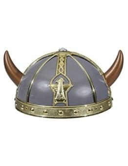 Helm: Wikingerhelm, grau, Kopfweite 58 - 1