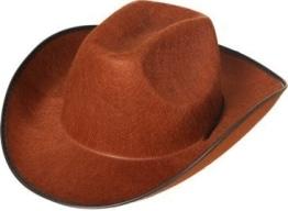Hut: Cowboyhut, braun, Einheitsgröße - 1
